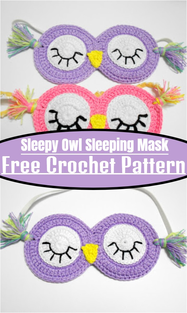 Sleepy Owl Sleeping Mask