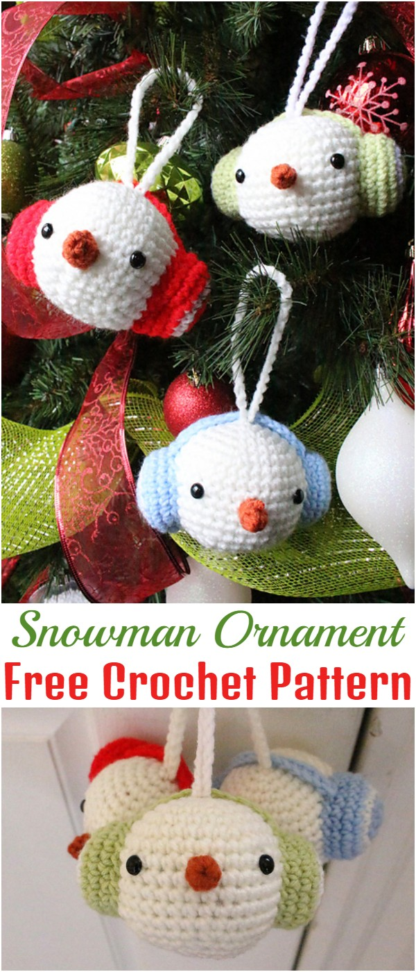 Free Crochet Christmas Ornament Patterns To Decorate Your Tree
