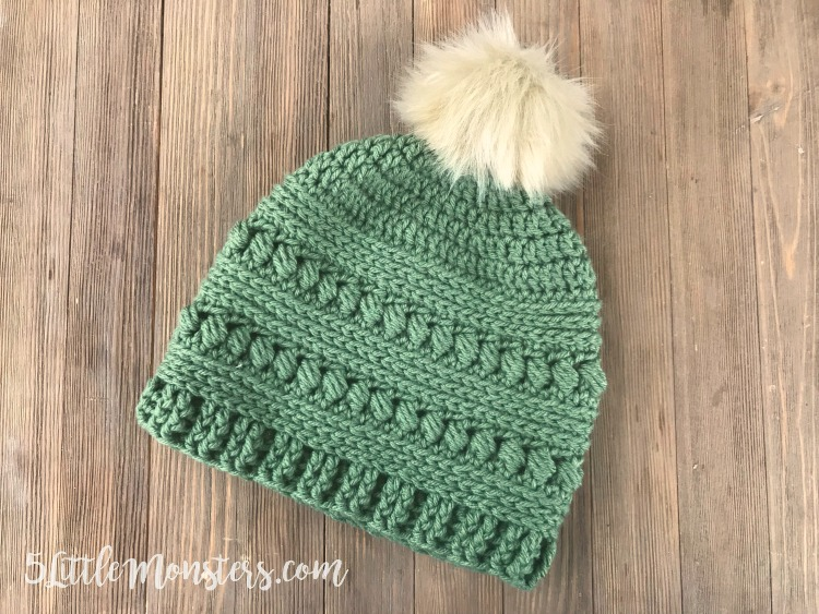 Bead Stitch Crochet Hat
