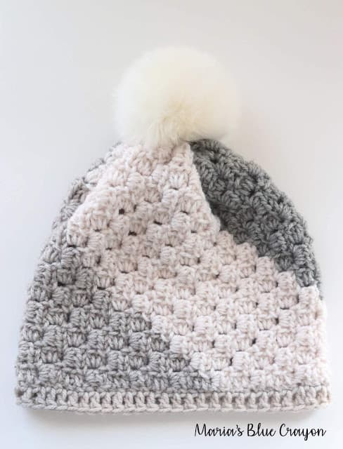 SQUARE BEANIE – FREE CROCHET HAT PATTERN
