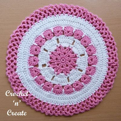 Free Crochet Lace Edge Doily Pattern