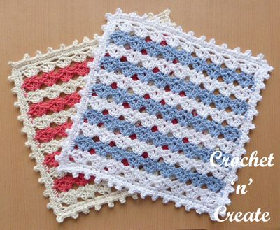 Free Crochet Square Doily Pattern
