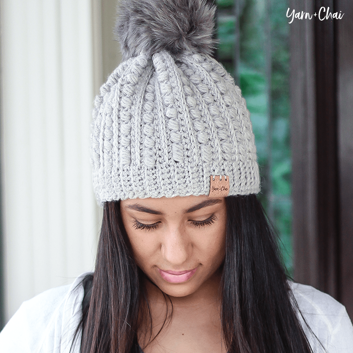 Malia Beanie (2 Sizes) Free Crochey Pattern