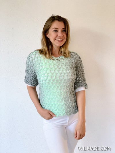 Simple Crochet T-shirt